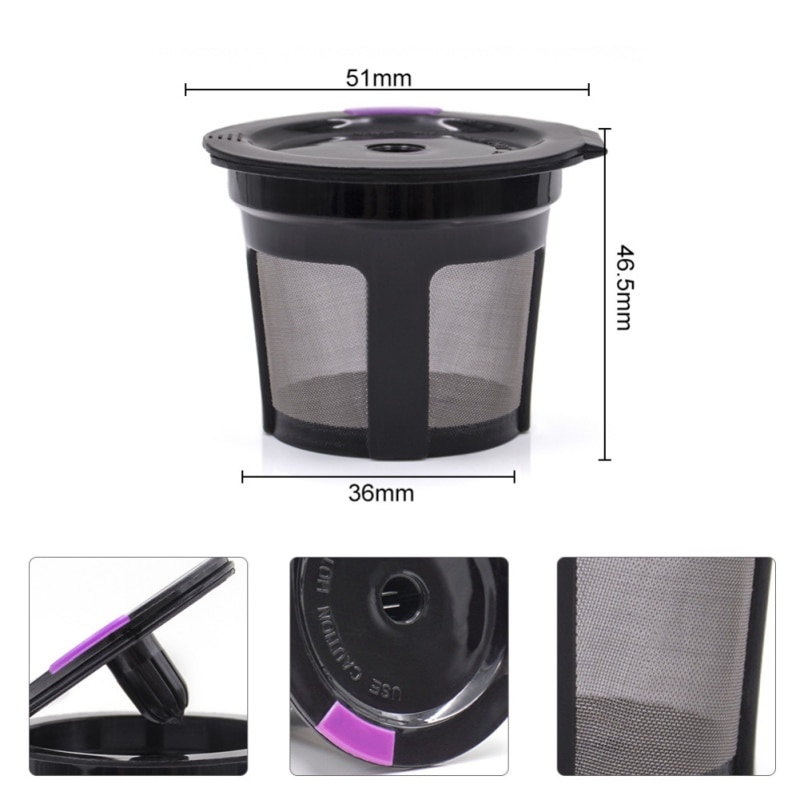 Refillable Coffee Capsule Reusable Coffee Filter Holder ...